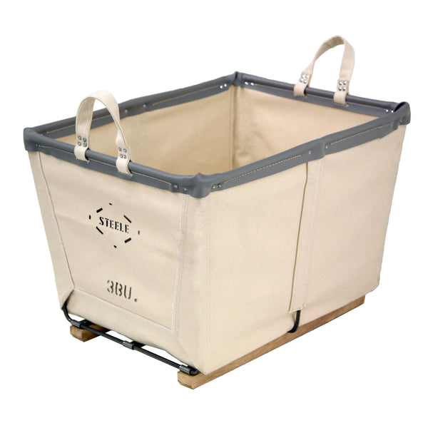 Canvas Small Carry Basket - 3 Bu