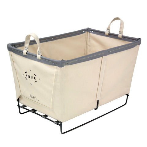 Canvas Small Basket - 4 Bu