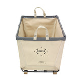 Canvas Small Carry Basket - 4 Bu