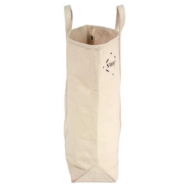 Natural Canvas Tote Bag - Tall