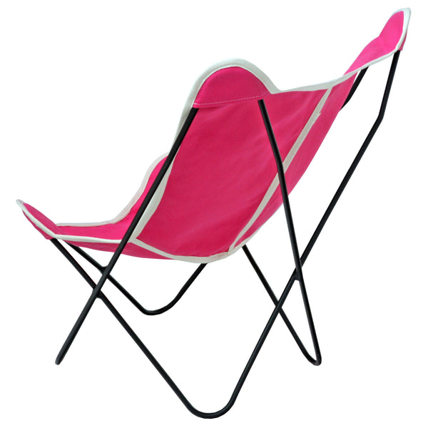 Half Pint Butterfly Sling Chair  (Pink)