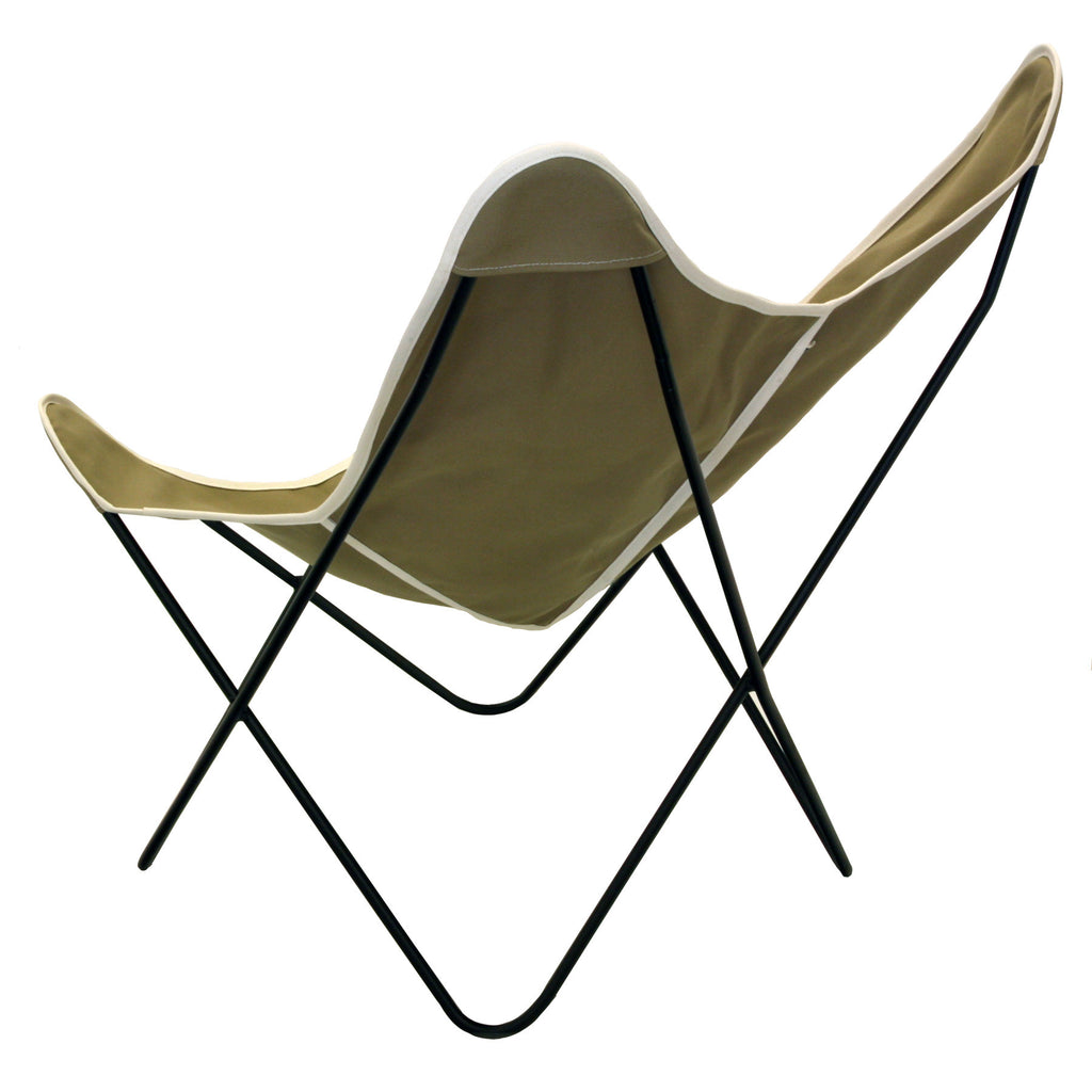 ... Steele Butterfly Sling Chair (British Tan) ...