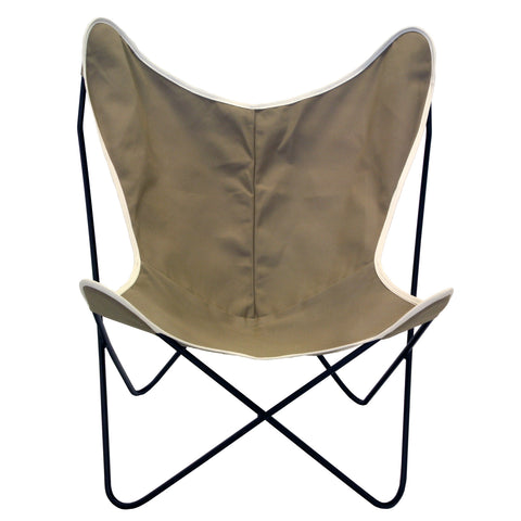 Steele Butterfly Sling Chair (British Tan)