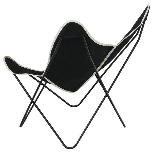 Steele Butterfly Sling Chair (Black)