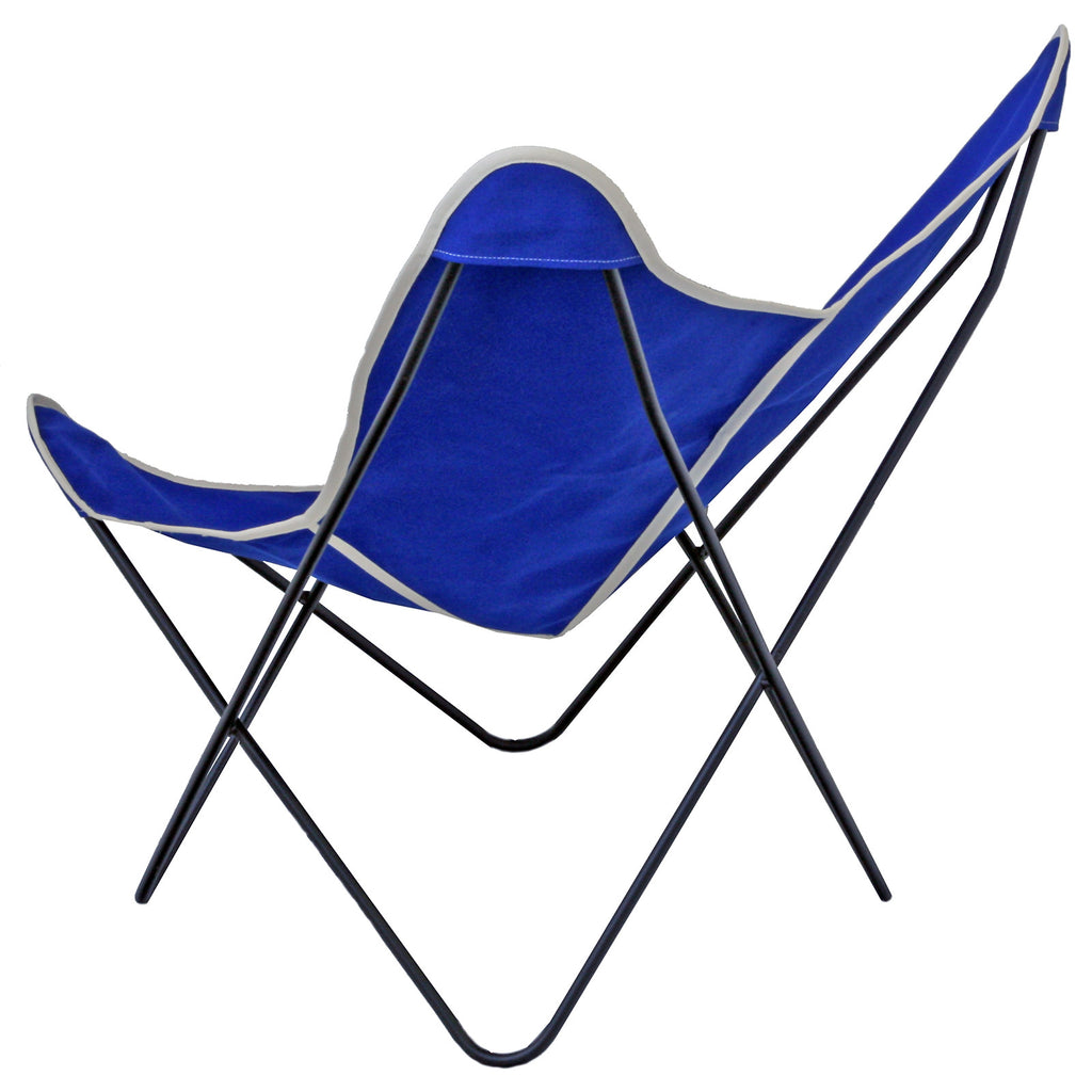 ... Steele Butterfly Sling Chair (Cobalt) ...