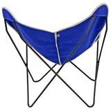 Steele Butterfly Sling Chair (Cobalt)