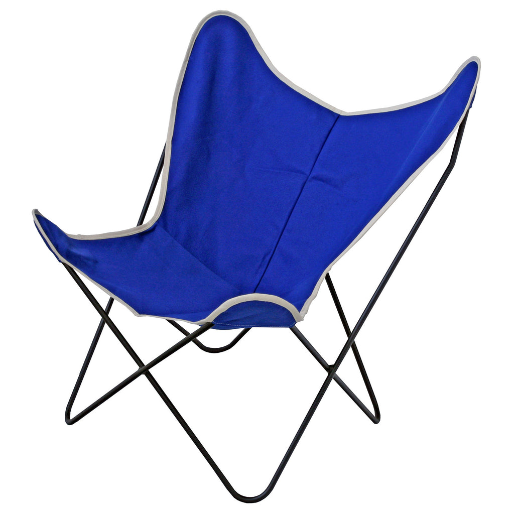 Steele Butterfly Sling Chair (Cobalt) ...