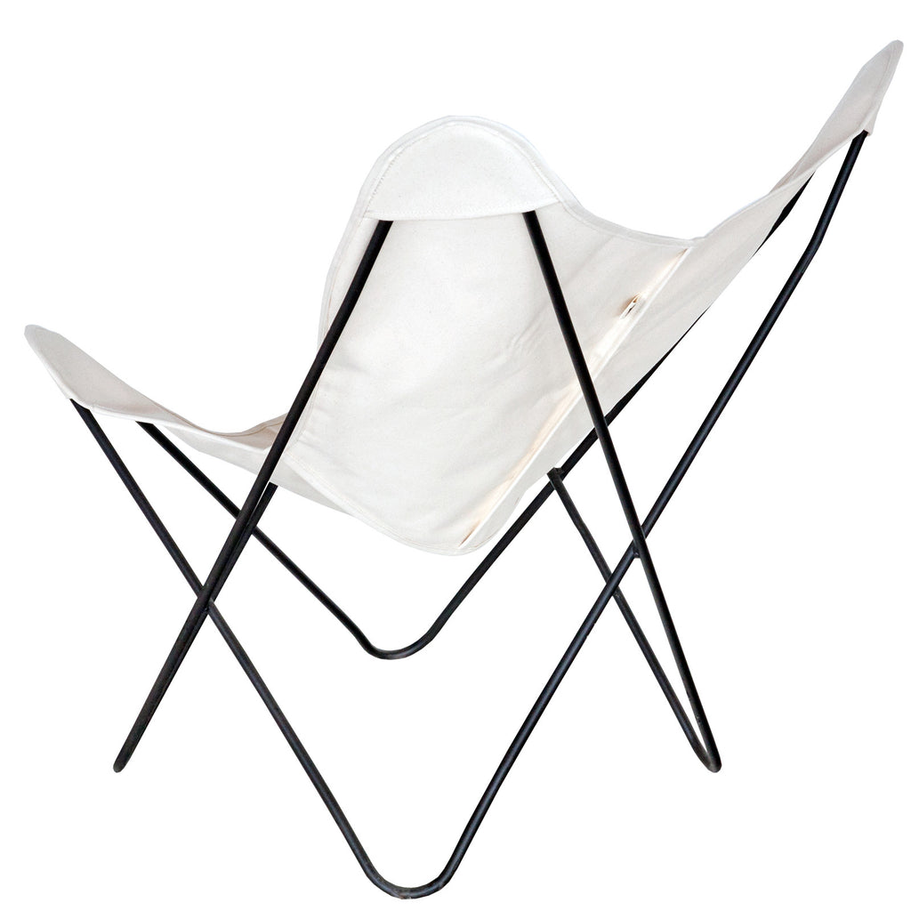 ... Steele Butterfly Sling Chair (Natural) ...