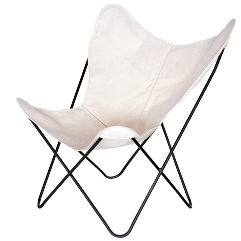 Genial ... Steele Butterfly Sling Chair (Natural)