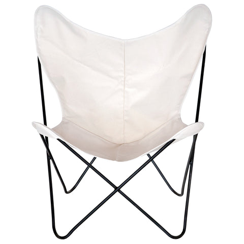 Beau Steele Butterfly Sling Chair (Natural) ...