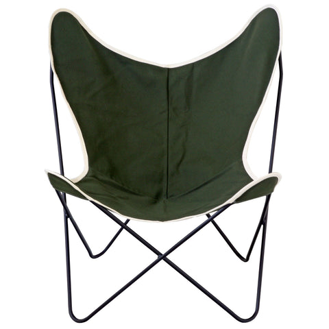 Steele Butterfly Sling Chair (Olive) ...