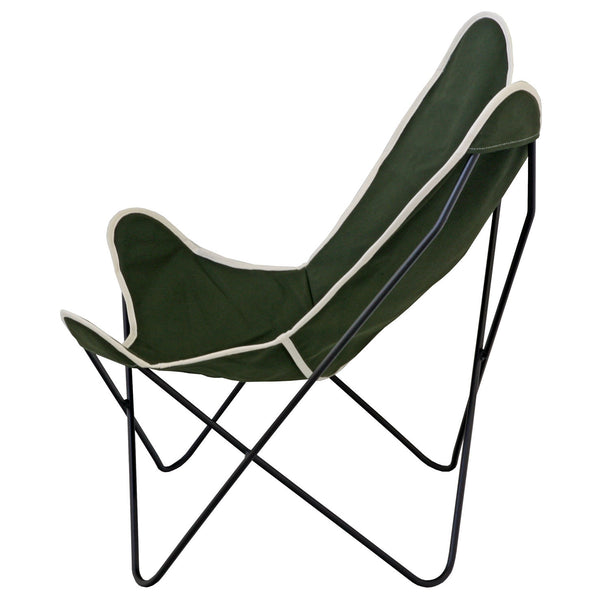 Steele Butterfly Sling Chair (Olive)