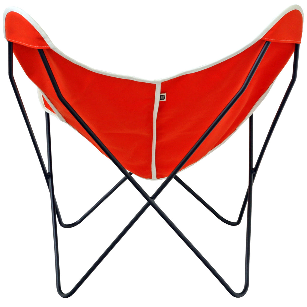 ... Steele Butterfly Sling Chair (Orange) ...