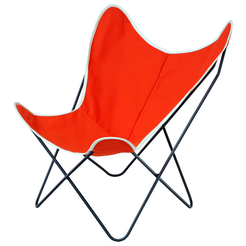 Steele Butterfly Sling Chair (Orange)