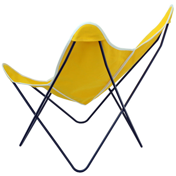 Steele Butterfly Sling Chair (Yellow)