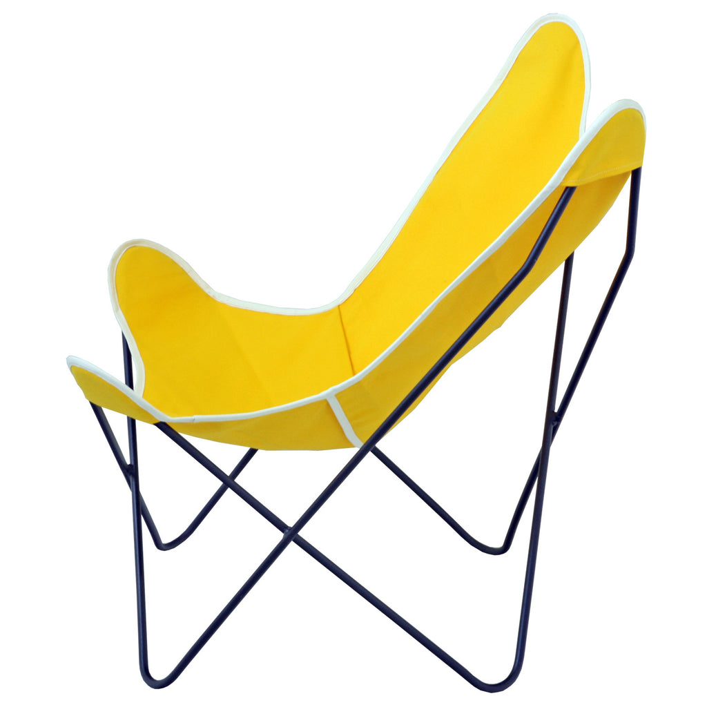 ... Steele Butterfly Sling Chair (Yellow) ...