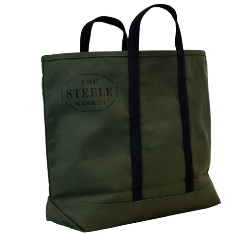 Olive Canvas Tote Bag - Medium