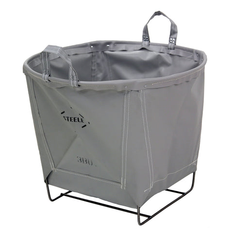 Steeletex Round Carry Basket - 3 Bu