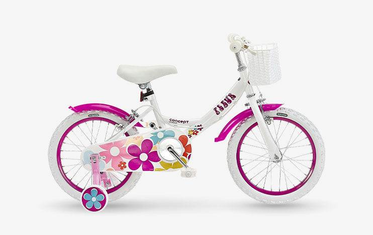 "Insync Fleur 16"" Wheel Girls Bicycle"