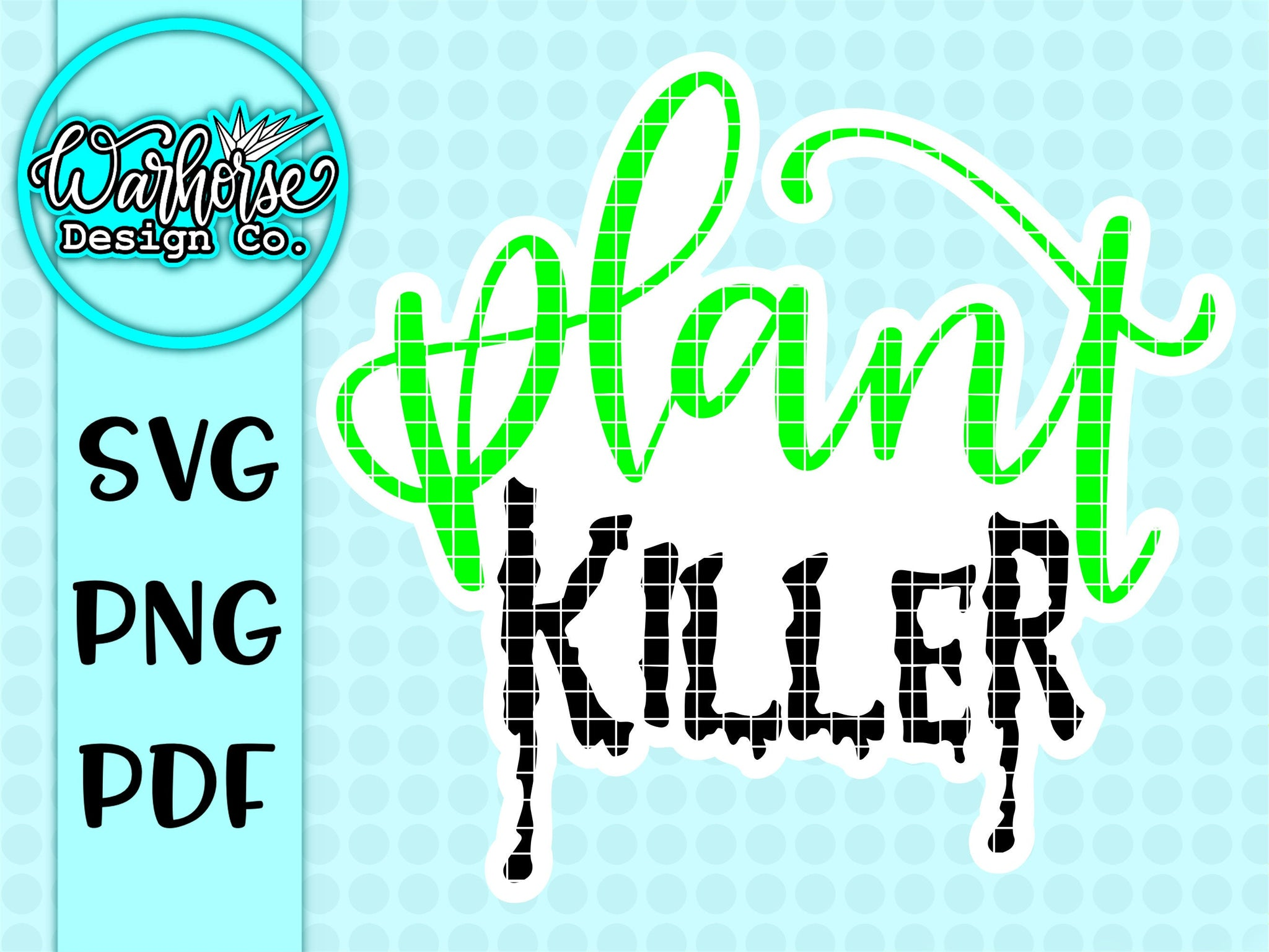 Plant Killer SVG PNG PDF