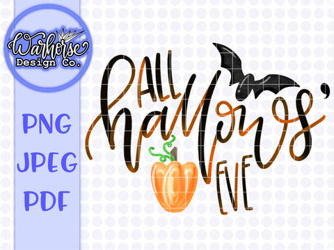 All Hallows' eve PNG JPEG PDF