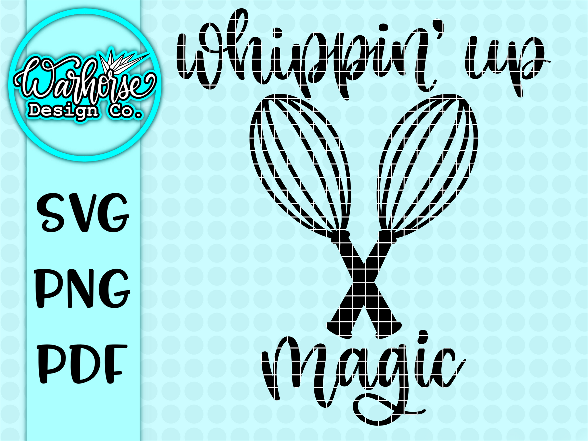 Whippin' up magic SVG/PNG/PDF