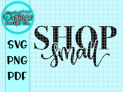 Shop Small SVG PNG PDF