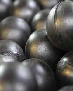 Black Rubber Bouncy Balls