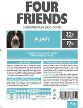 Load image into Gallery viewer, FourFriends Puppy 17kg