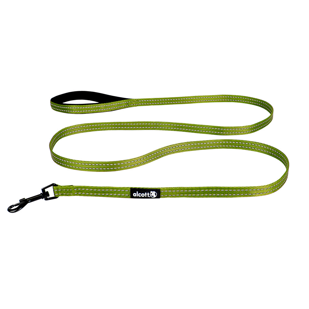 Alcott Adventure Green Nylon Leash
