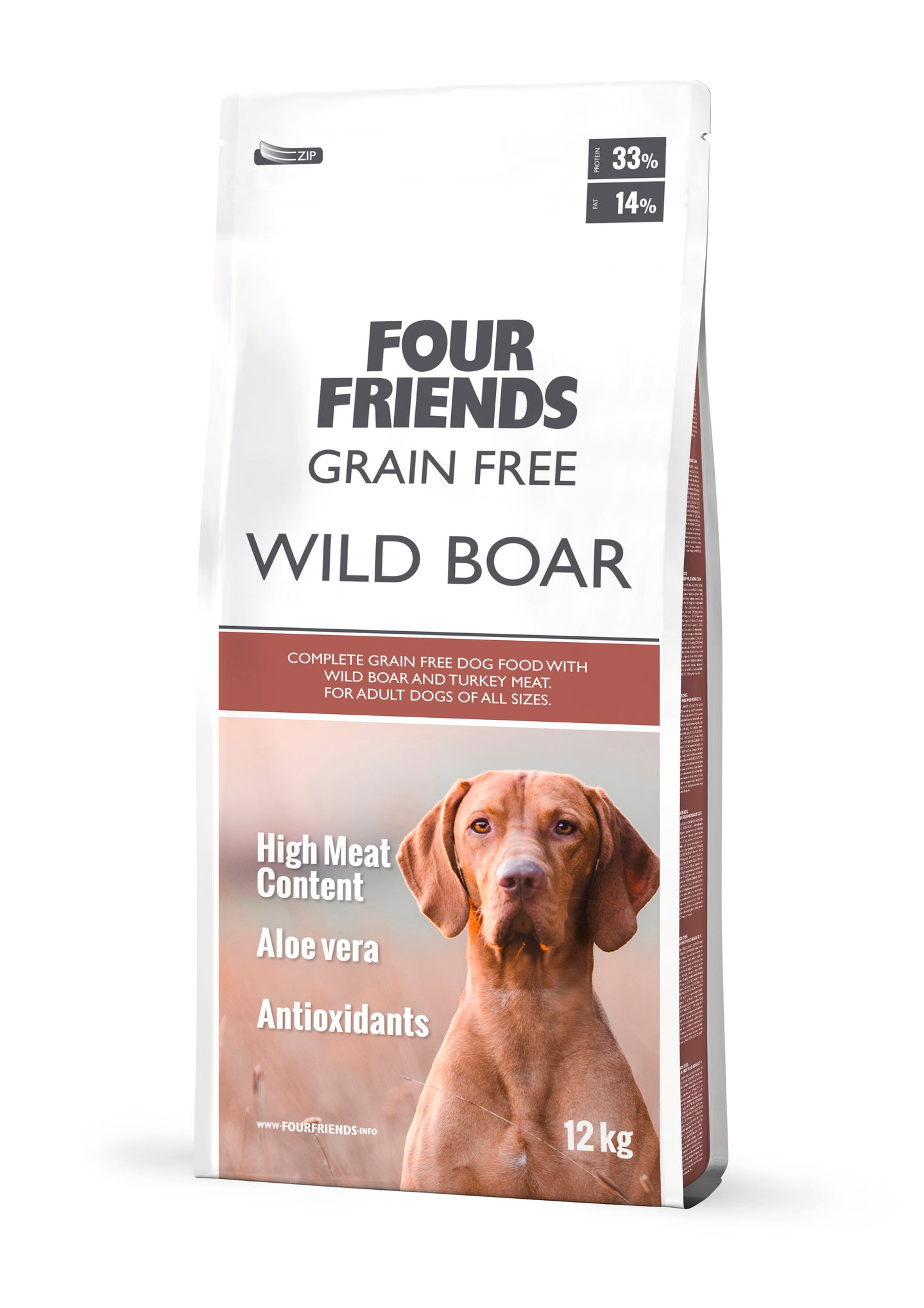 FourFriends Grain Free Wild Boar with Turkey 17kg