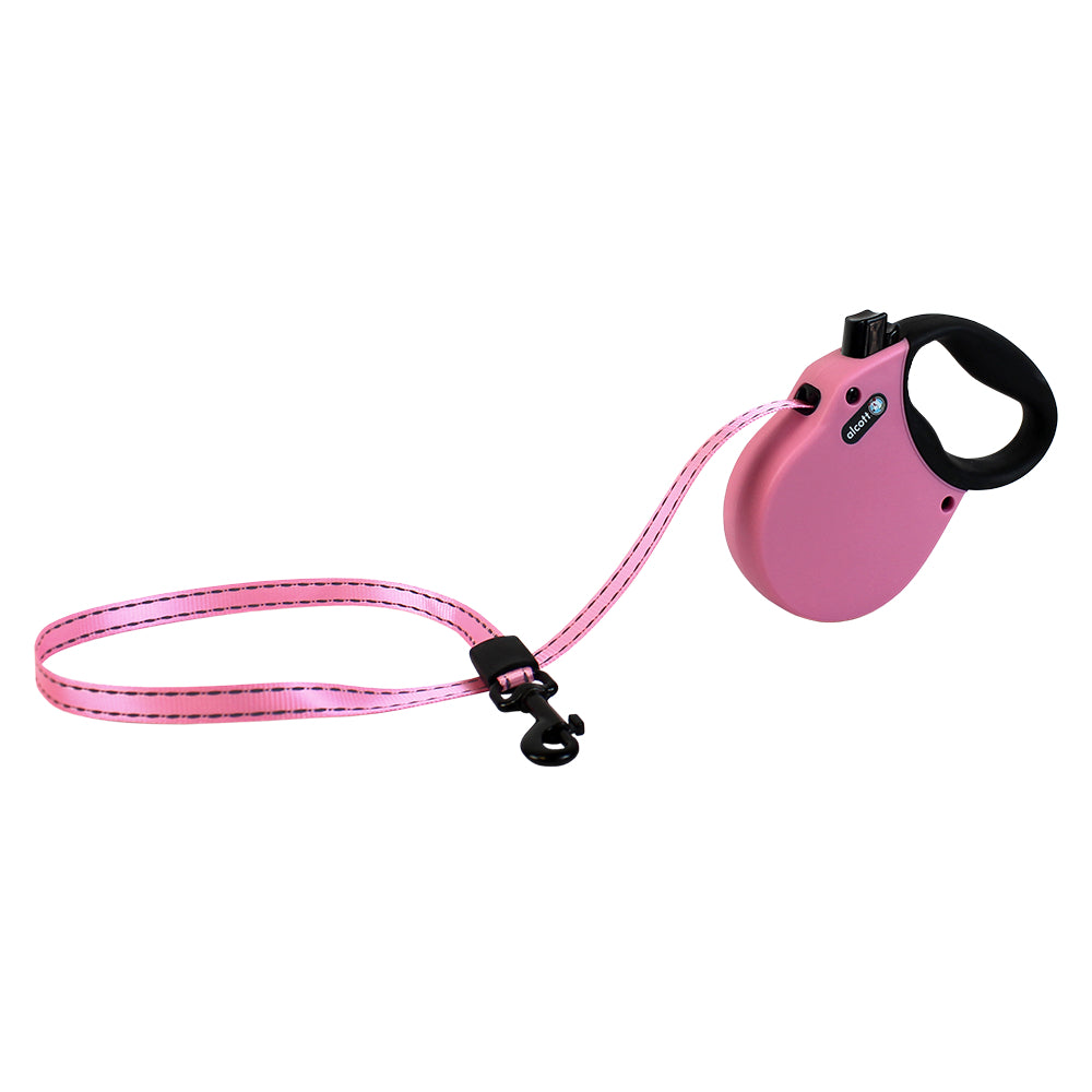 Alcott Adventure Pink Retractable Leash