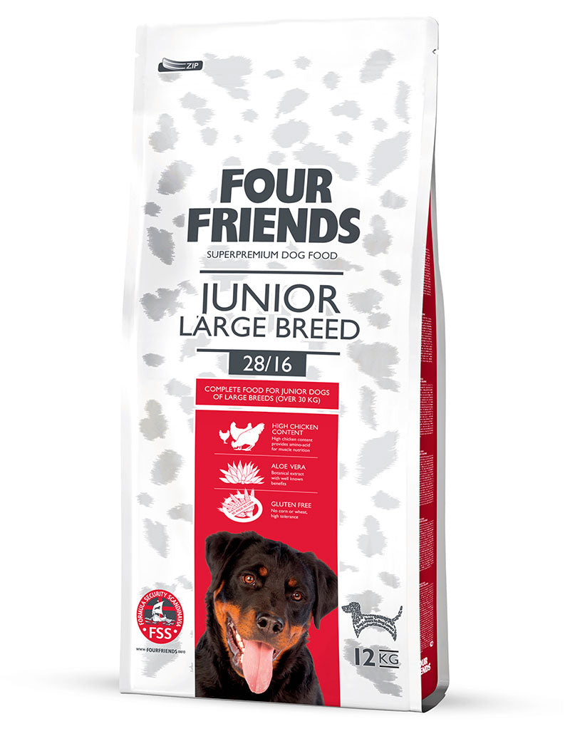 FourFriends Junior Large Breed 17kg
