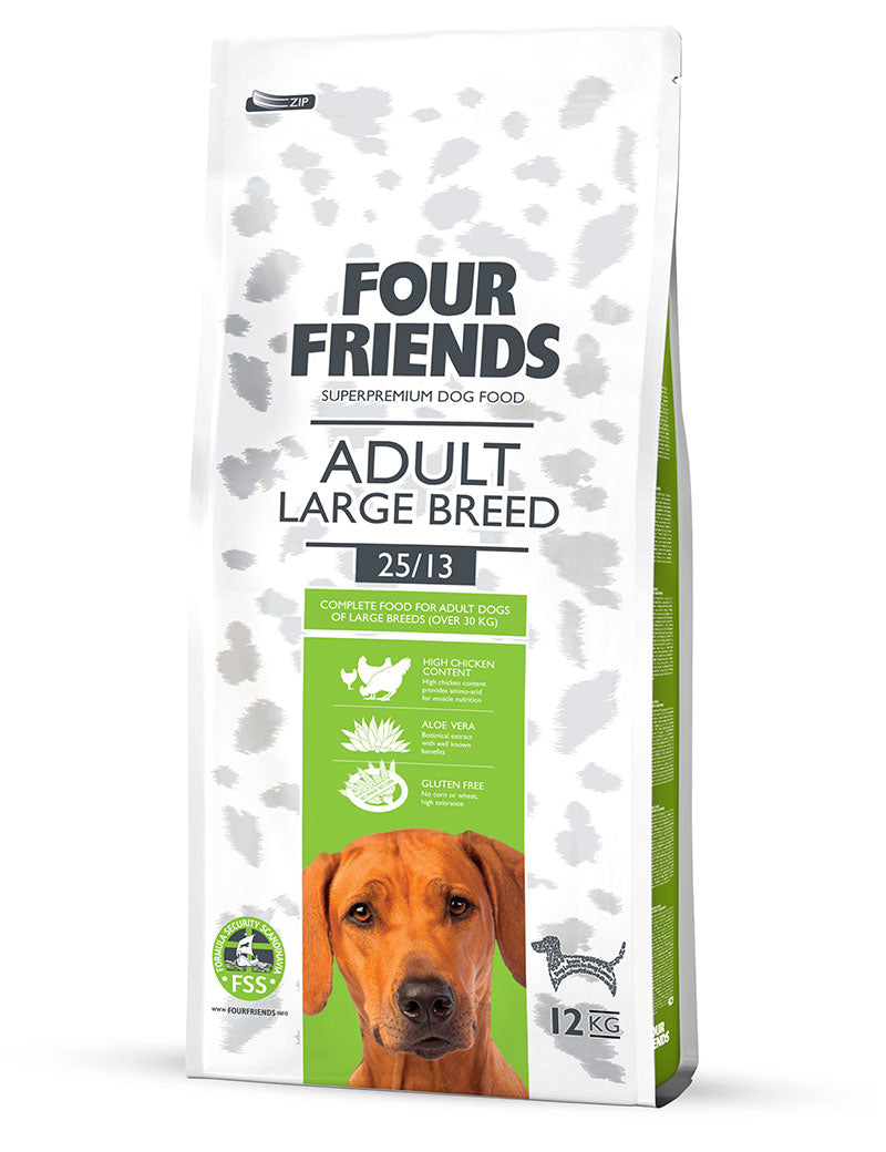 FourFriends Adult Large Breed 17kg