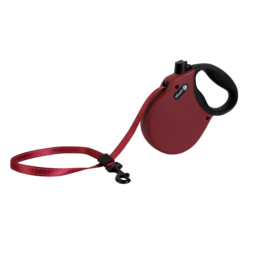 Alcott Adventures Red Retractable Dog Lead