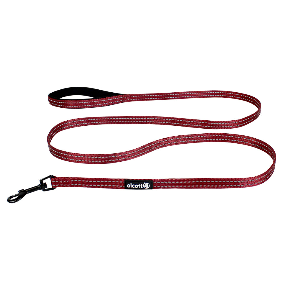 Alcott Red Adventure Nylon Leash
