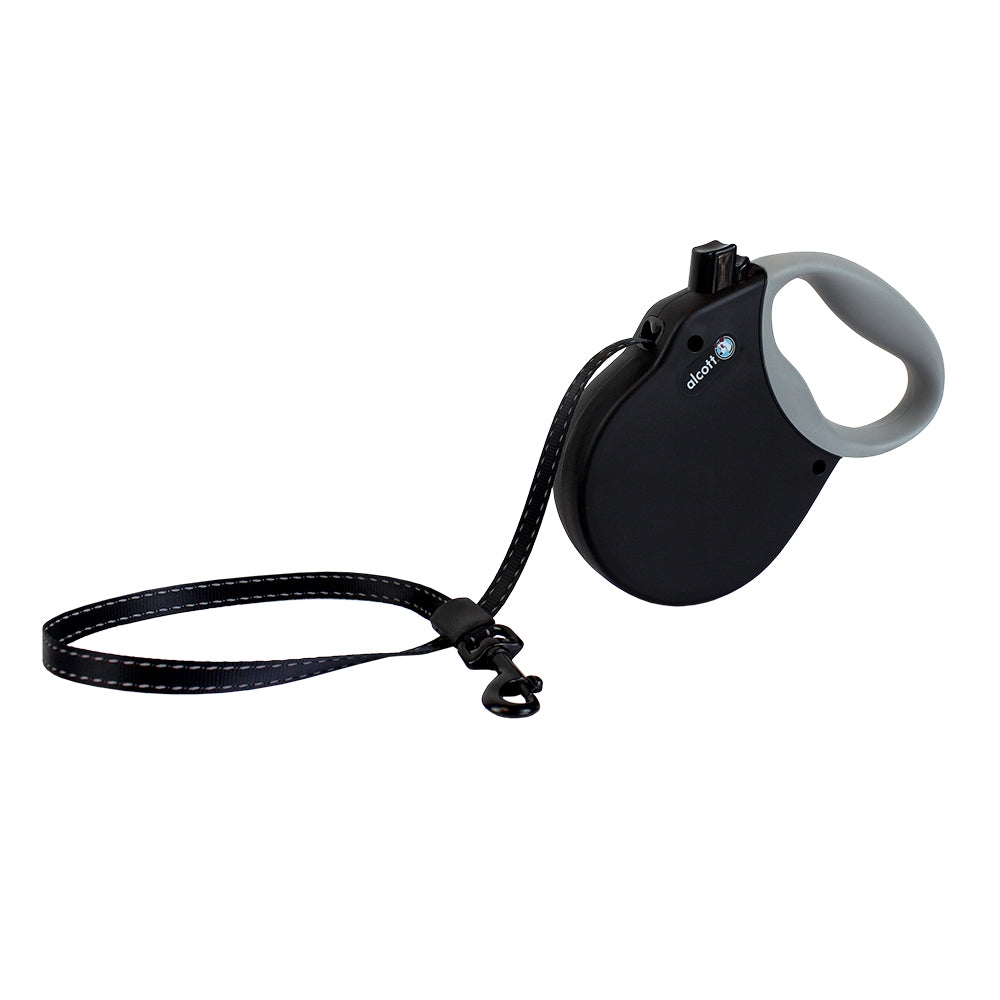 Alcott Adventures Black Retractable Dog Lead