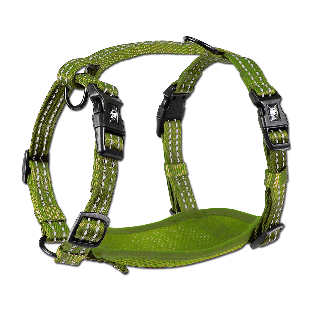 Alcott Adventure Nylon Harness Green