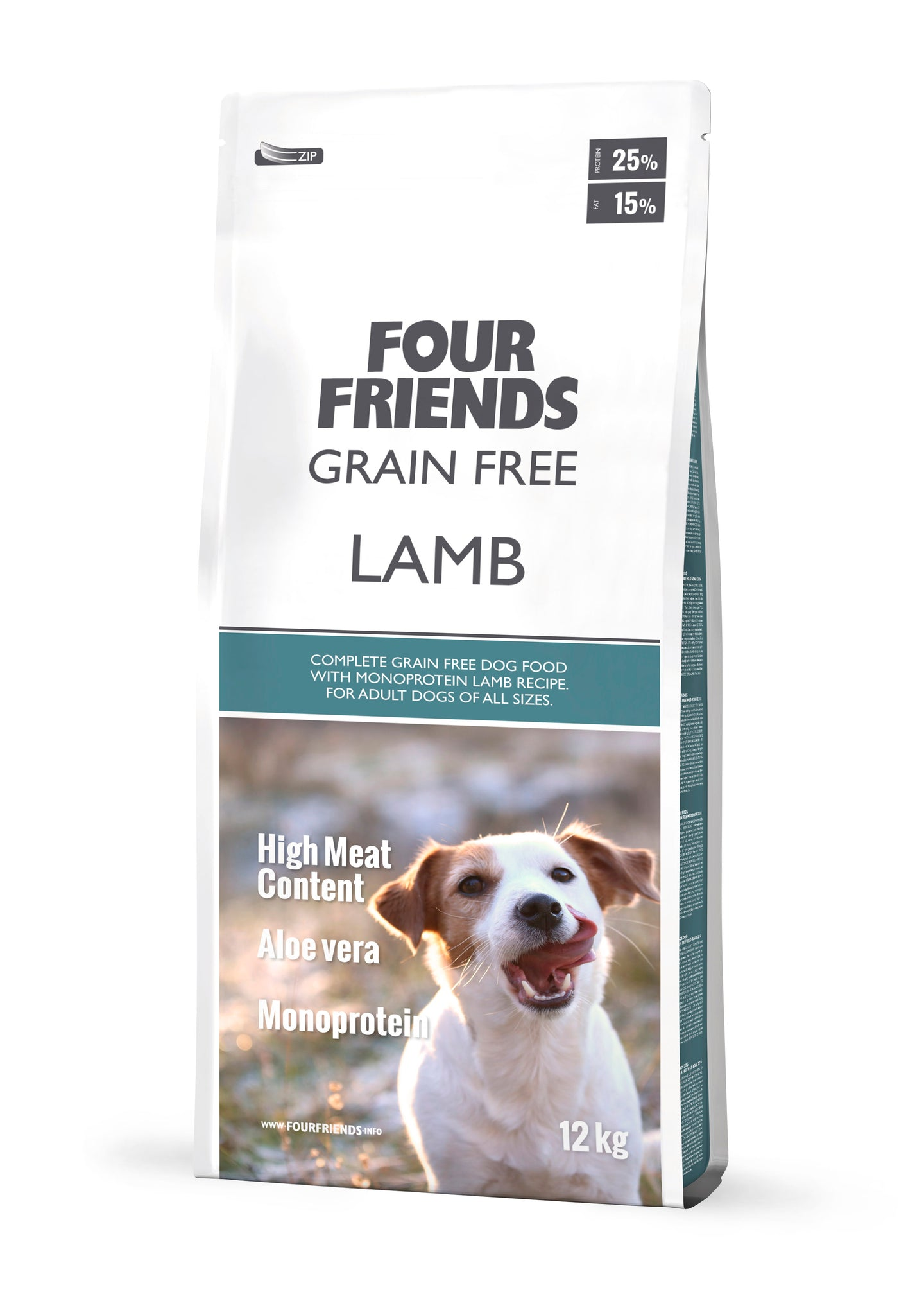 FourFriends Grain Free Lamb 17kg