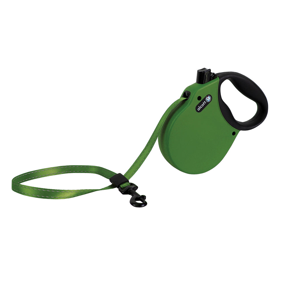 Alcott Retractable Green Dog Leash