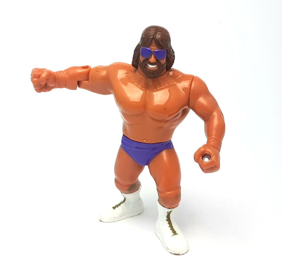 MACHO KING RANDY SAVAGE WWF HASBRO Vintage Wrestling Action Figure ☆ Original 90s Loose
