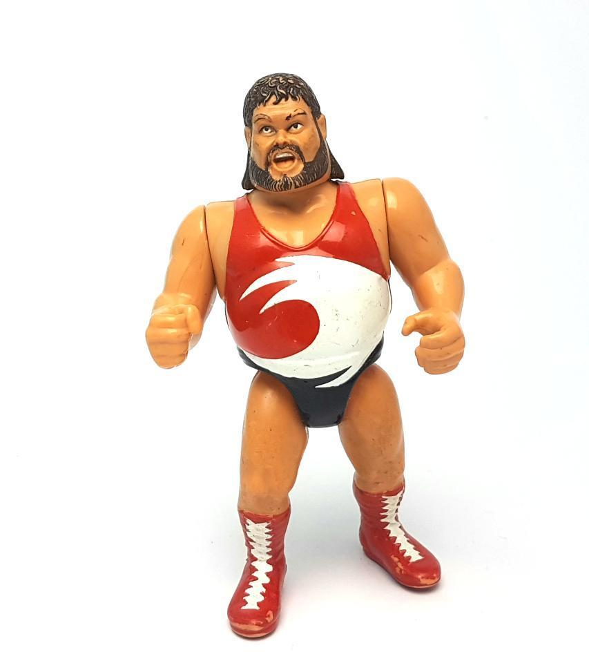 TYPHOON WWF HASBRO Vintage Wrestling Action Figure ☆ Original 90s Loose