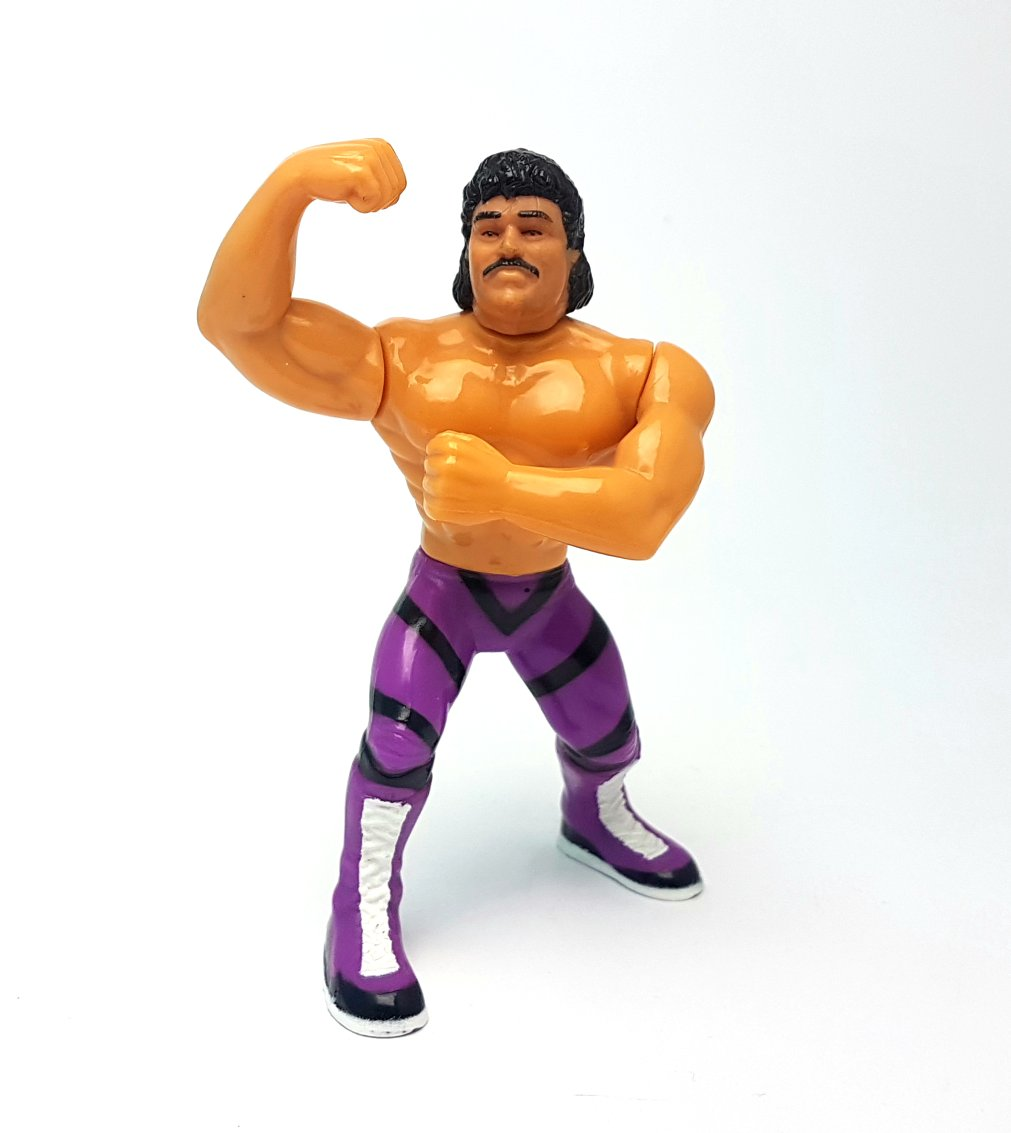 RAVISHING RICK RUDE WWF HASBRO Series 1 Vintage Wrestling Action Figure ☆ Original 90s Loose