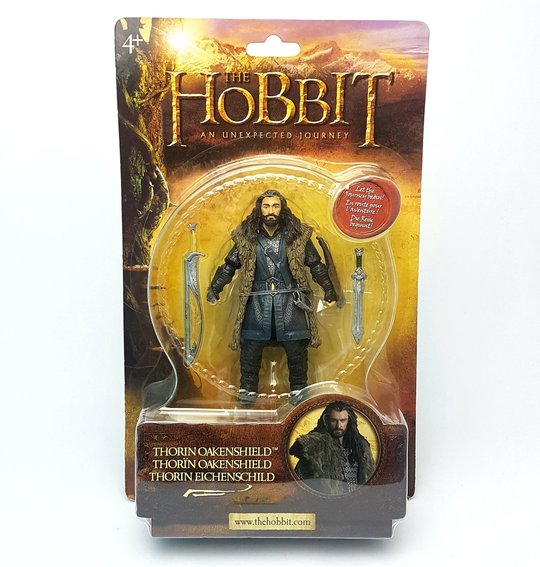 Original ☆ THORIN OAKENSHIELD THE HOBBIT Figure ☆ MGM Sealed MOC Carded