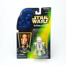 Load image into Gallery viewer, POTF ☆ R5-D4 DROID Star Wars Power Of The Force Figure ☆ MOC Sealed Carded Kenner