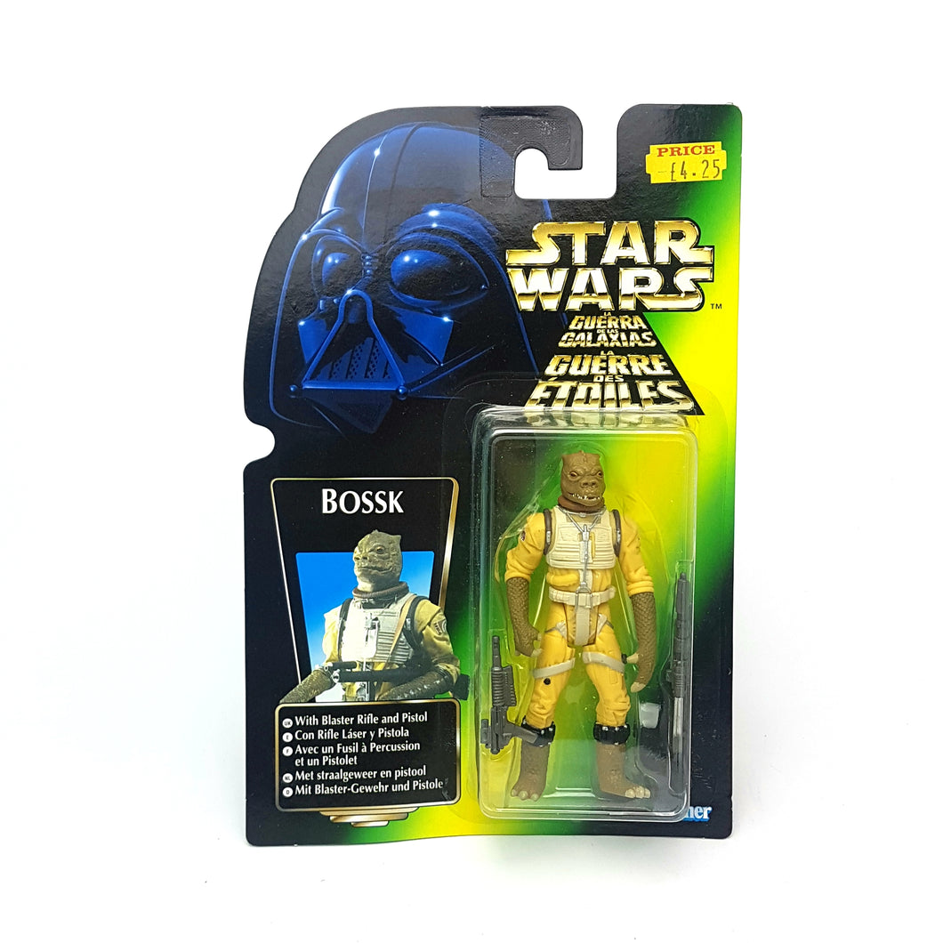 POTF ☆ BOSSK EURO CARD Star Wars Power Of The Force Figure ☆ MOC Sealed Carded