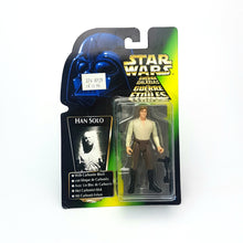Load image into Gallery viewer, POTF ☆ HAN SOLO CARBONITE Star Wars Power Of The Force Figure ☆ MOC Sealed Carded