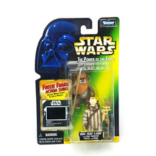 Load image into Gallery viewer, POTF ☆ EWOKS: WICKET & LOGRAY Star Wars Power Of The Force Figure ☆ MOC Sealed Carded FREEZE FRAME
