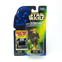 Load image into Gallery viewer, POTF ☆ REE-YEES Star Wars Power Of The Force Figure ☆ MOC FREEZE FRAME Carded Kenner