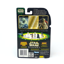 Load image into Gallery viewer, POTF ☆ YODA FLASHBACK PHOTO Star Wars Power Of The Force Figure ☆ MOC Sealed Carded